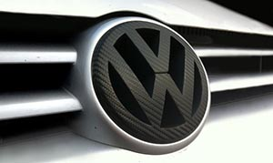 vw-badge-with-carbon-fibre-vinyl-to-applied-to-face
